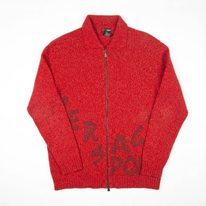 90's Versace Sport Zipper Red