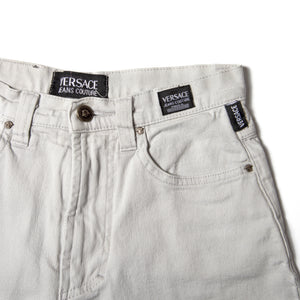 "Versace Jeans ""Light Grey"" - Amsterdam Vintage Clothing"