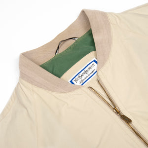 Yves Saint Laurent Beige Jacket - Amsterdam Vintage Clothing