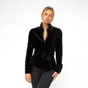 Thierry Mugler Black Velvet Jacket