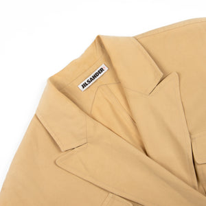 Jil Sander Beige Cotton Dress