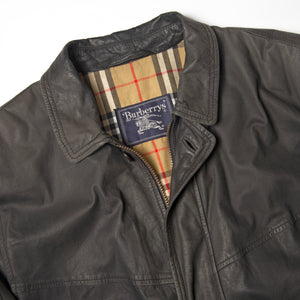 Burberry Leather Jacket - Amsterdam Vintage Clothing