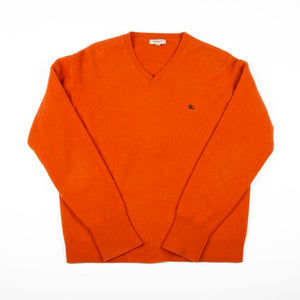 Burberry Wool Sweater Orange