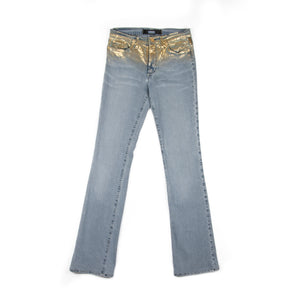 00's Versace Jeans Couture Gold