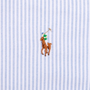 Ralph Lauren Shirt Blue/White Striped