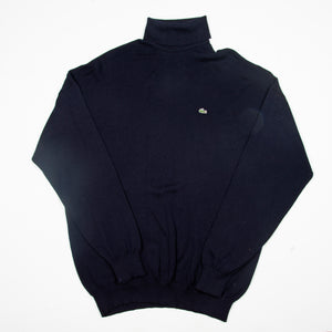 Lacoste Navy Turtleneck - Amsterdam Vintage Clothing