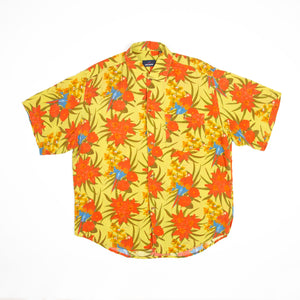 "Daniel Hechter Blouse ""Hawaii"" - Amsterdam Vintage Clothing"