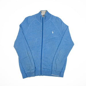 "Ralph Lauren Zipper ""Baby Blue"" - Amsterdam Vintage Clothing"