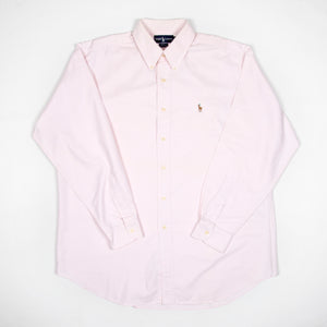 Ralph Lauren Shirt Light Pink - Amsterdam Vintage Clothing
