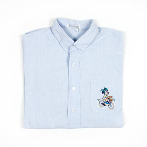 Donaldson Shirt Light Blue - Amsterdam Vintage Clothing