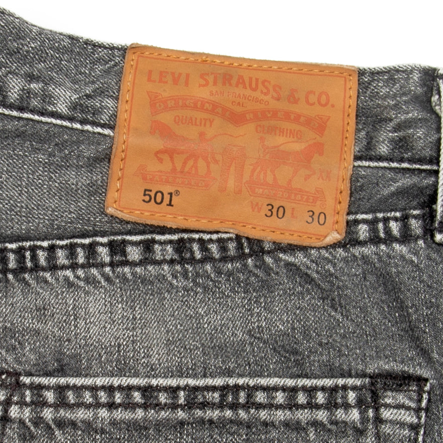 Levi's Jeans Grey Washed - Amsterdam Vintage Clothing