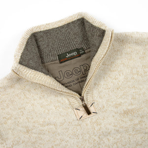 "Jeep Quarter Zip ""Beige"""