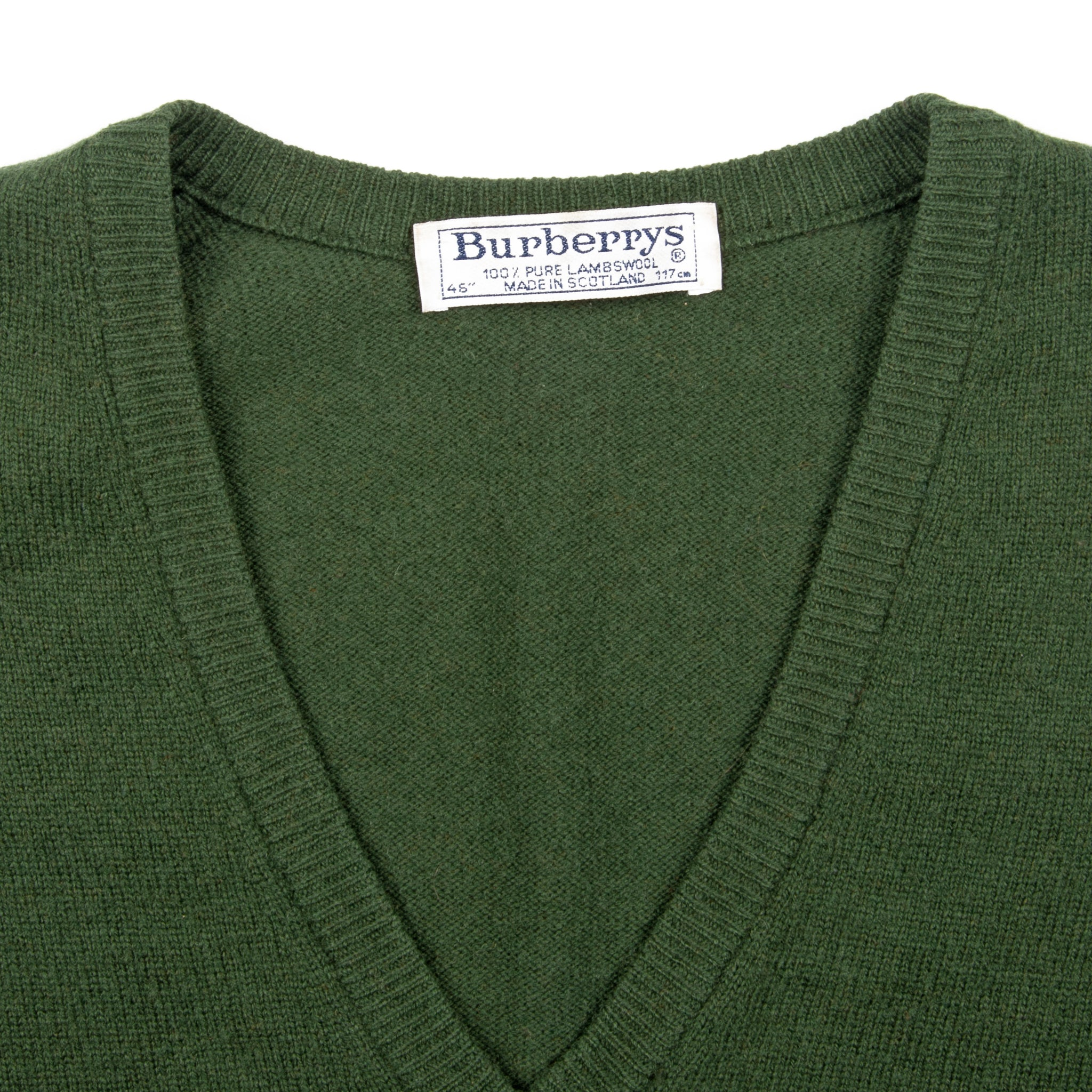 80's Burberrys Spencer Green