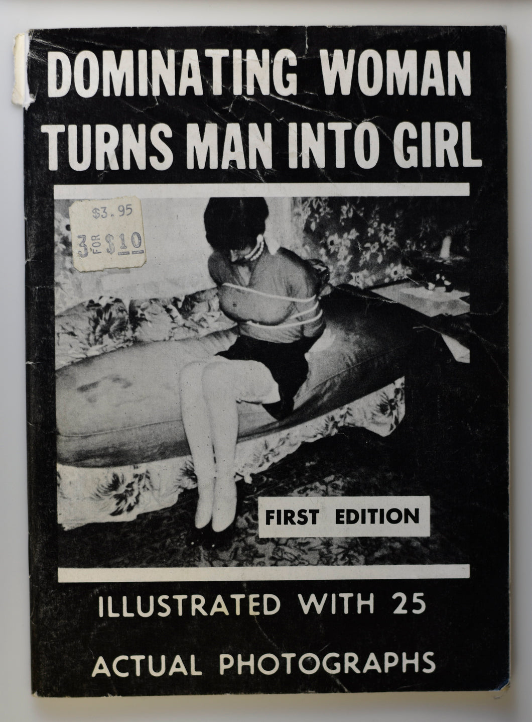 DOMINATING WOMAN TURNS MAN INTO GIRL FIRST EDITION COVER