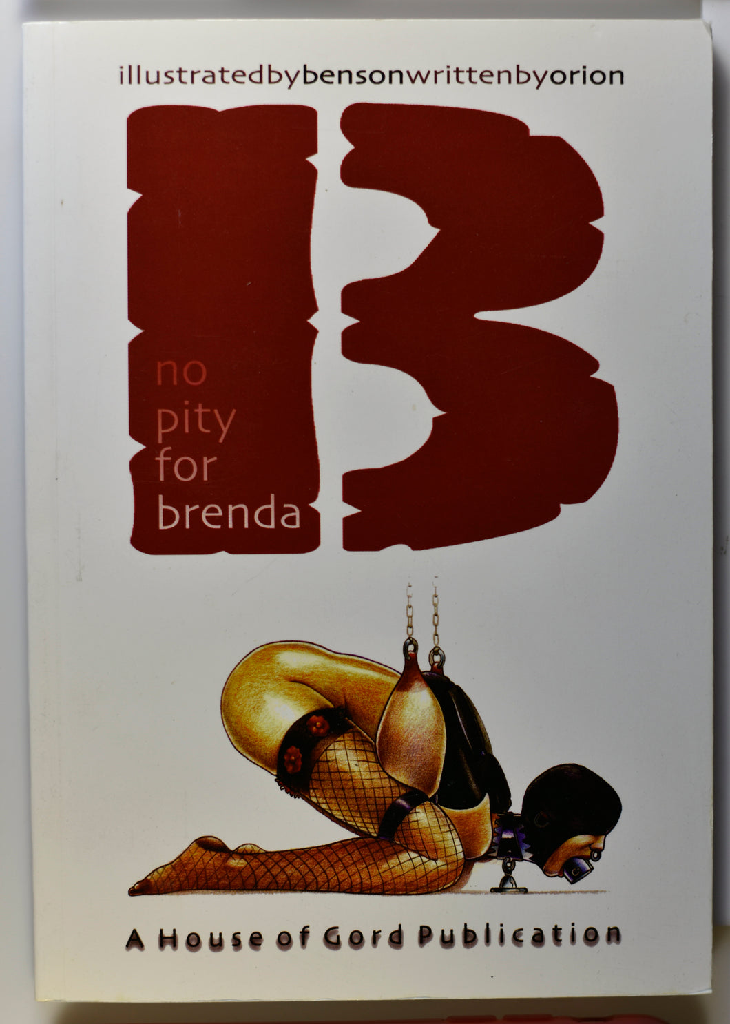 NO PITY FOR BRENDA COVER