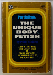 PARTIALISM THE UNIQUE BODY FETISH COVER