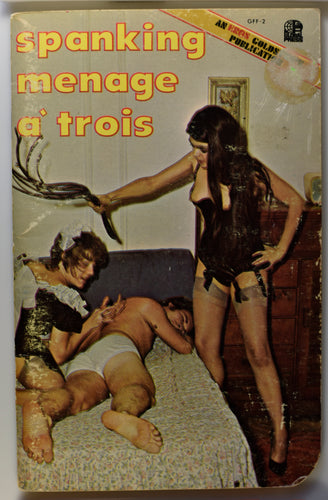 SPANKING MENAGE A TROIS COVER