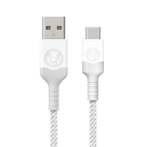 Bonelk USB to USB-C Cable, Long-Life Series, White - 2m