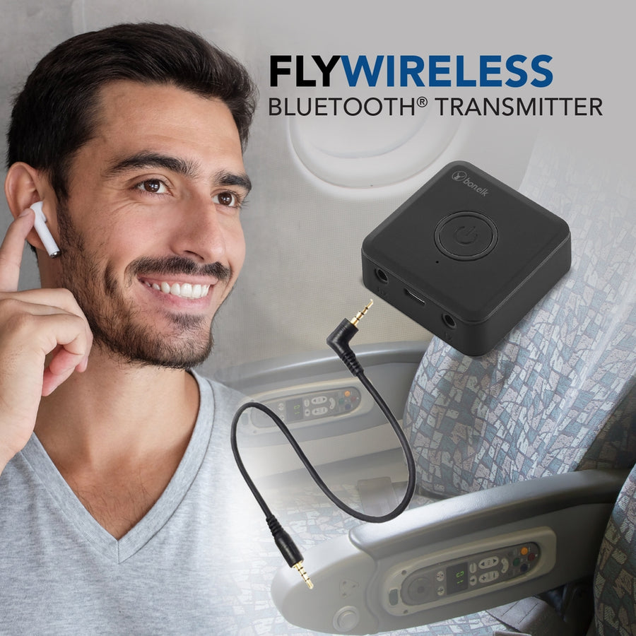 Bonelk Fly Wireless Bluetooth Transmitter (Black)