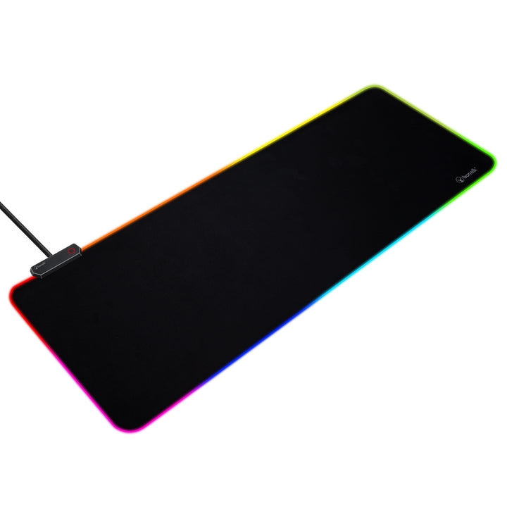 Bonelk Gaming RGB Keyboard/Mouse Pad 80x30cm, USB, MX-831R - Black