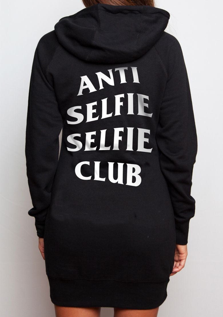 Selfie Club V2 Hoodie Dress