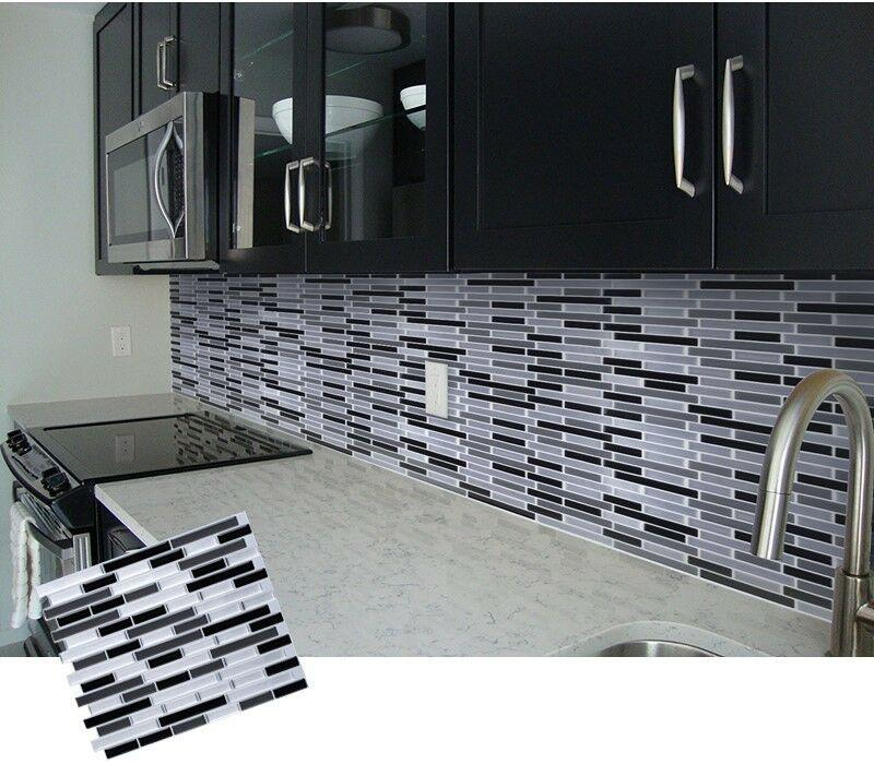 Crystal Tile 3D Wall Sticker per piece