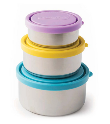 Round Reusable Nesting Containers