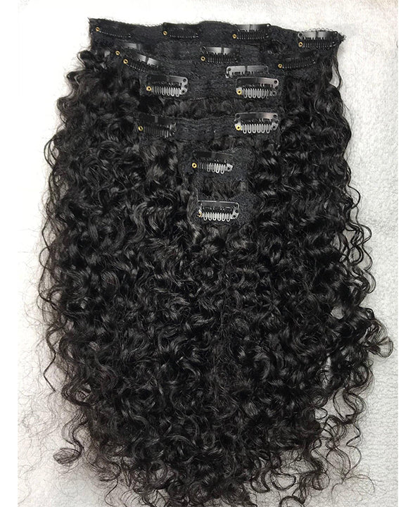CURLY CLIP-IN SET - Hairstyles by Eden