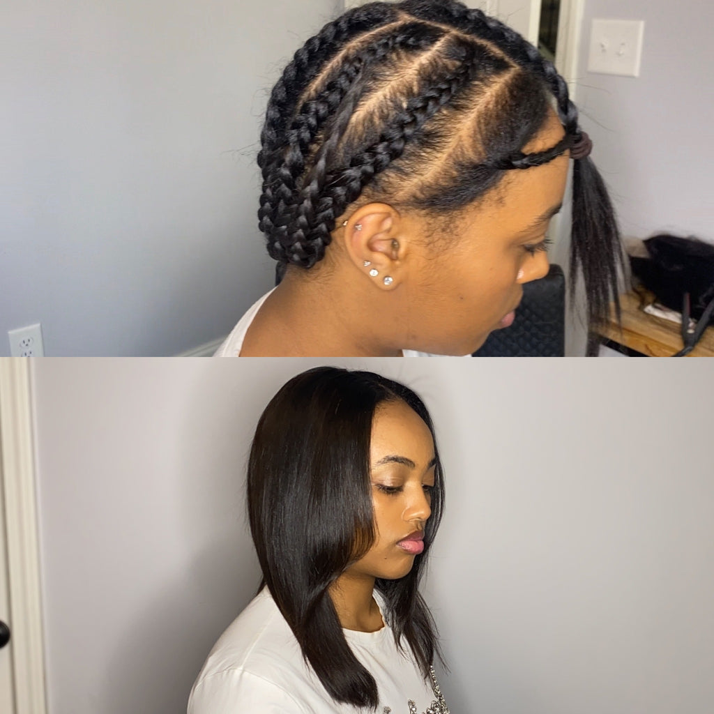 STRAIGHT BRAZILIAN U-Part WIG! - Hairstyles by Eden