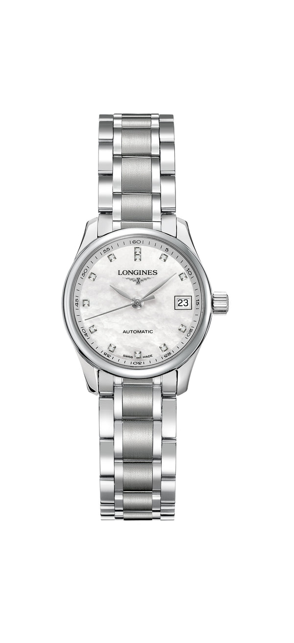 Longines L2.128.4.87.6 Master collection rannekello - Longines - Laatukoru