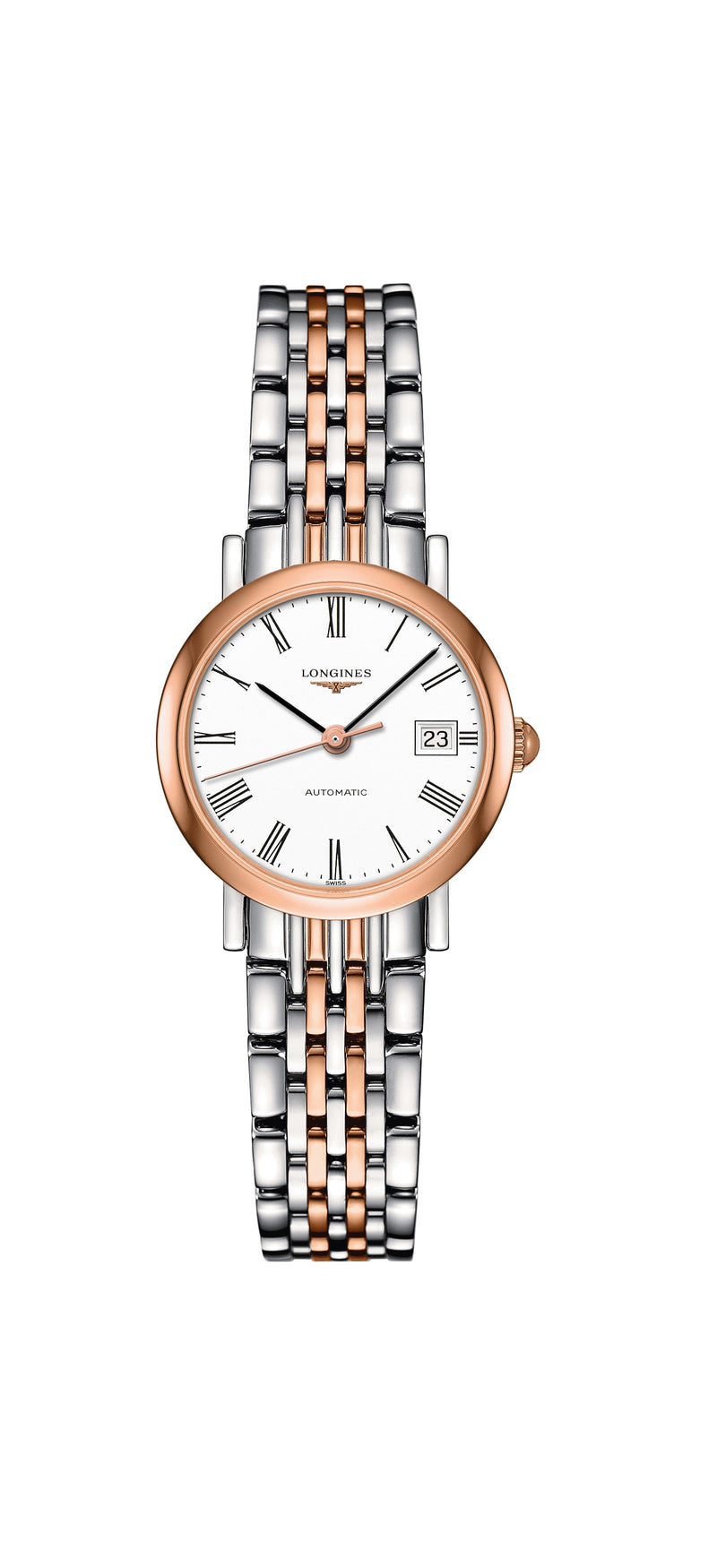 Longines L4.309.5.11.7 Elegant Collection, naisten rannekello - Longines - Laatukoru