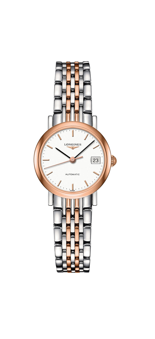 Longines L4.309.5.12.7 Elegant collection naisten rannekello - Longines - Laatukoru
