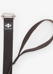 Organic Cotton Yoga Loop Strap - Charcoal