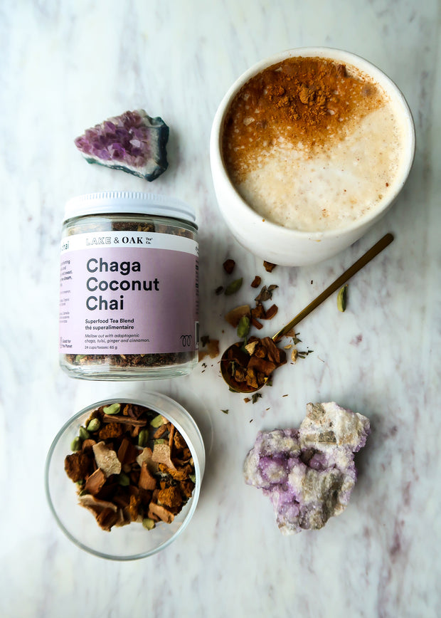 Lake & Oak - Chaga Coconut Chai