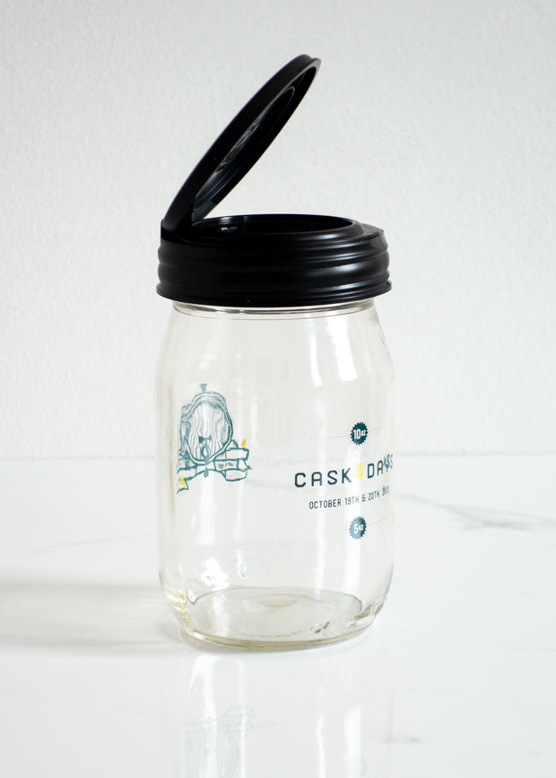 Mason Jar Flip Top Lid - Regular Mouth