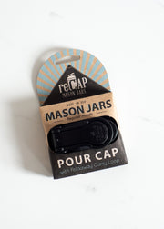 Mason Jar Pour Cap - Regular Mouth