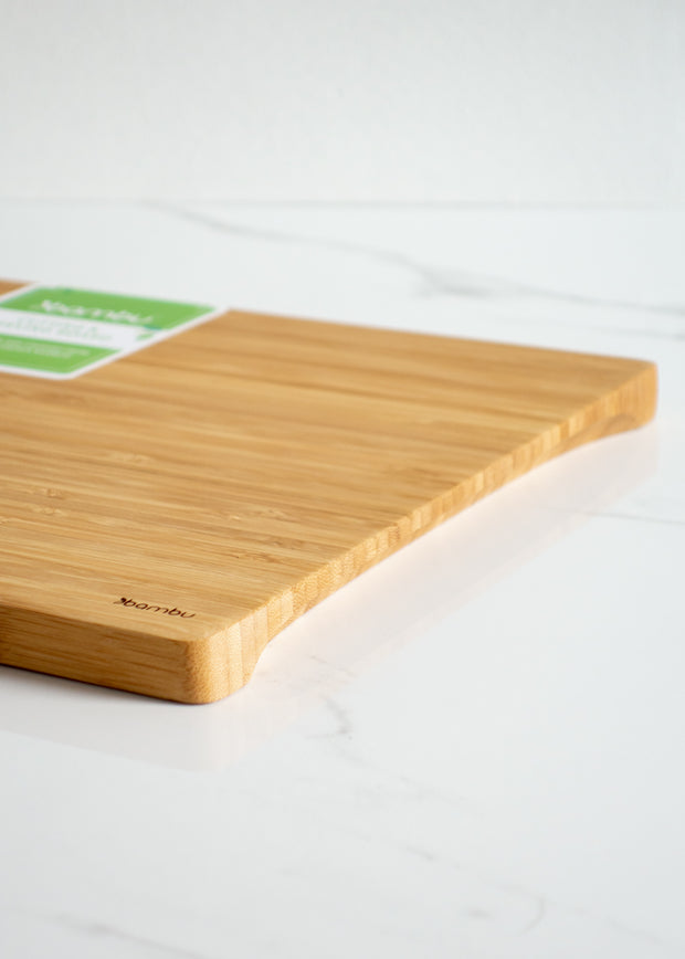Bamboo Undercut Cutting & Serving Board