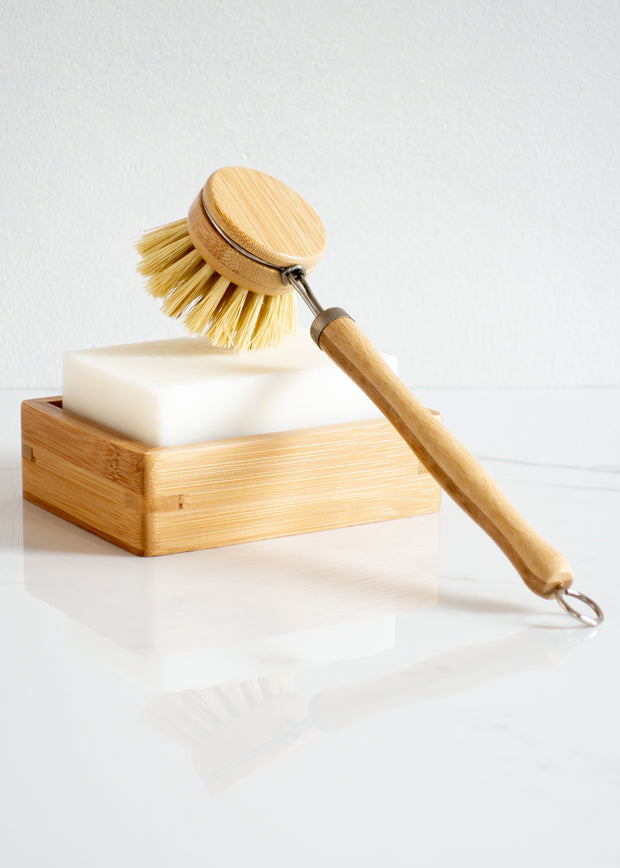 Dish Brush with Replaceable Head