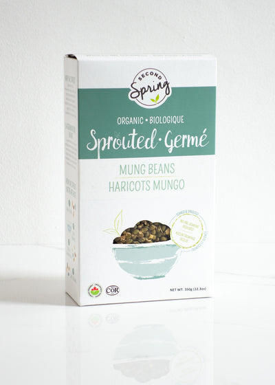 Organic Sprouted Mung Beans