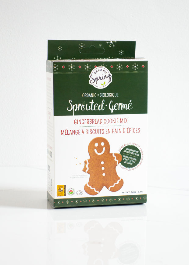 Organic Sprouted Gingerbread Cookie Mix
