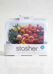 Reusable Silicone Stand-Up Mid Bag