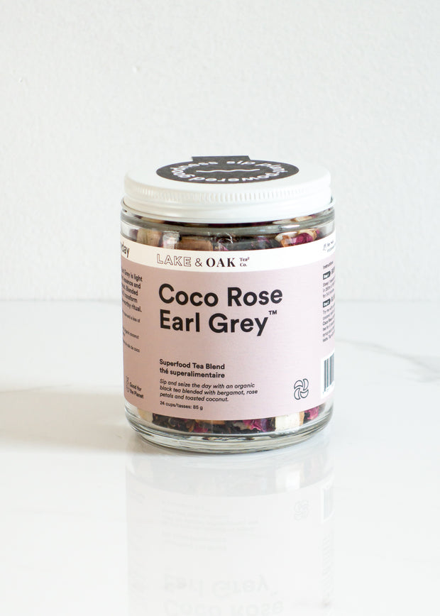 Lake & Oak - Coco Rose Earl Grey