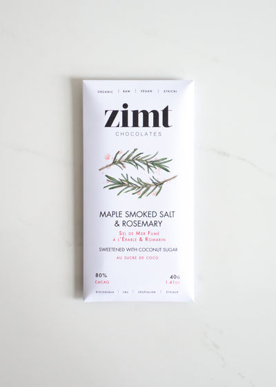 Zimt - Maple Smoked Salt + Rosemary Bar