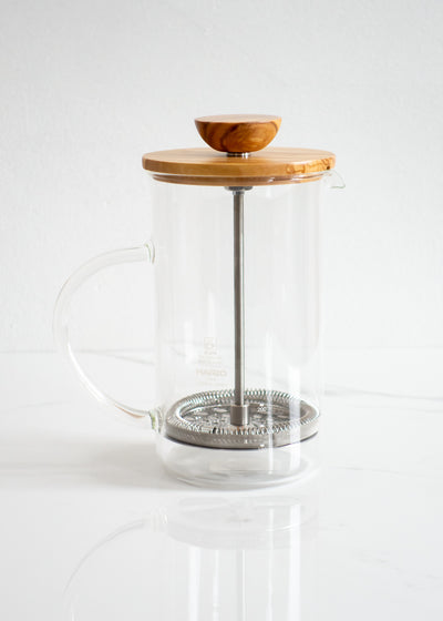 Hario Olive Wood Tea/Coffee Press