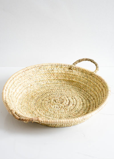 Straw Woven Plate