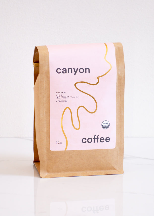 Canyon Coffee - Organic Tolima (Especial) Colombia