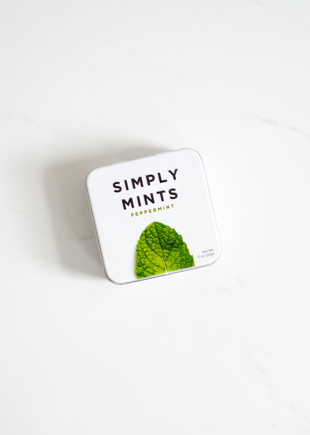 Simply Mints - Peppermint Natural Mints