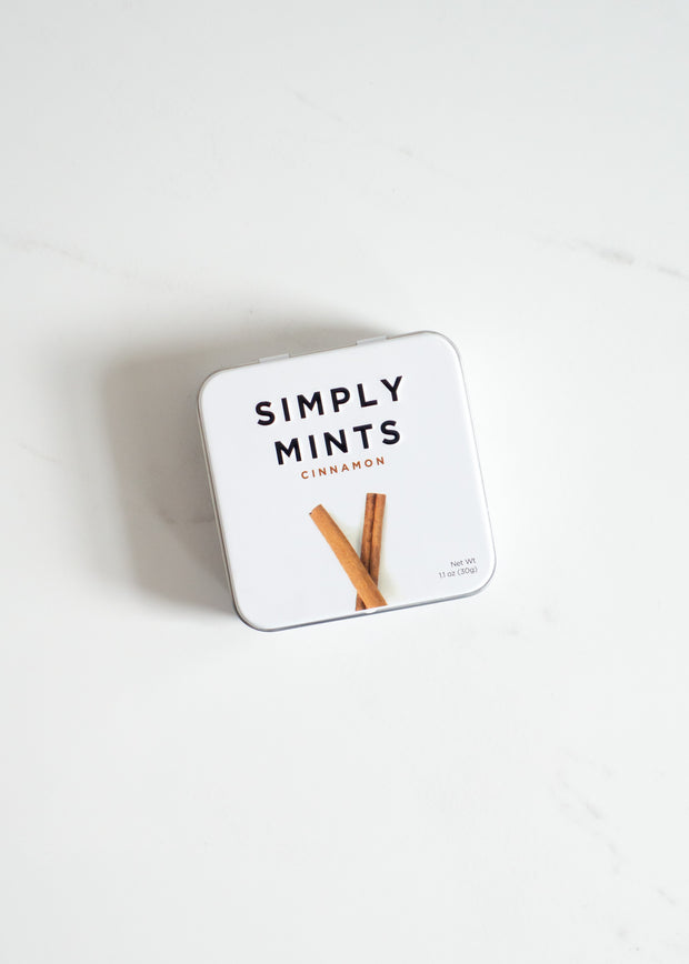 Simply Mints - Cinnamon Natural Mints