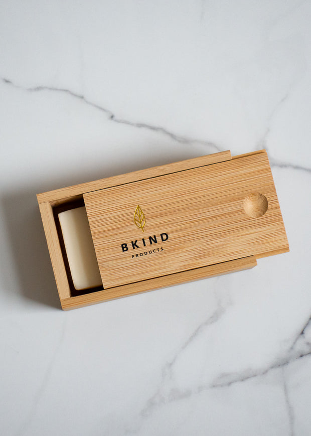 Bamboo Case for Shampoo & Conditioner Bars