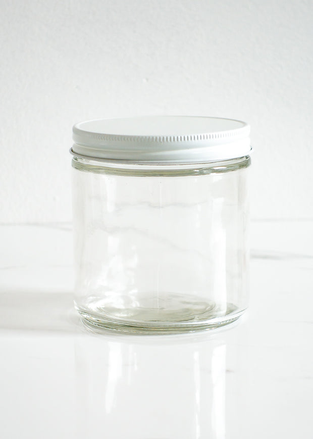 Refillable Glass Jar 16 oz
